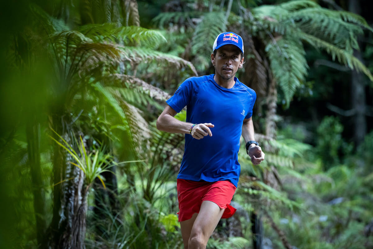 Ryan Sandes trains before the Tarawera Ultra Marathon in Rotorua, New Zealand on February 5, 2019 // Graeme Murray/Red Bull Content Pool // AP-1YTK9TPW51W11 // Usage for editorial use only //